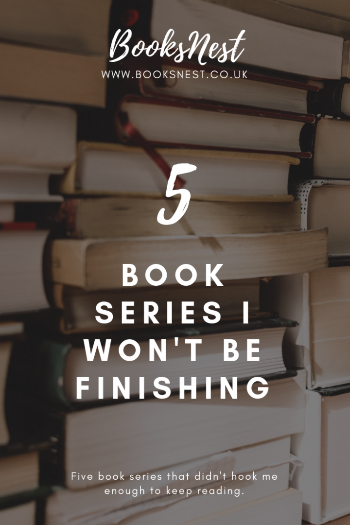 5 book series I won't be finishing
