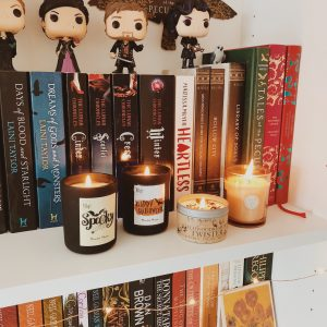 Halloween and Autumn Candles