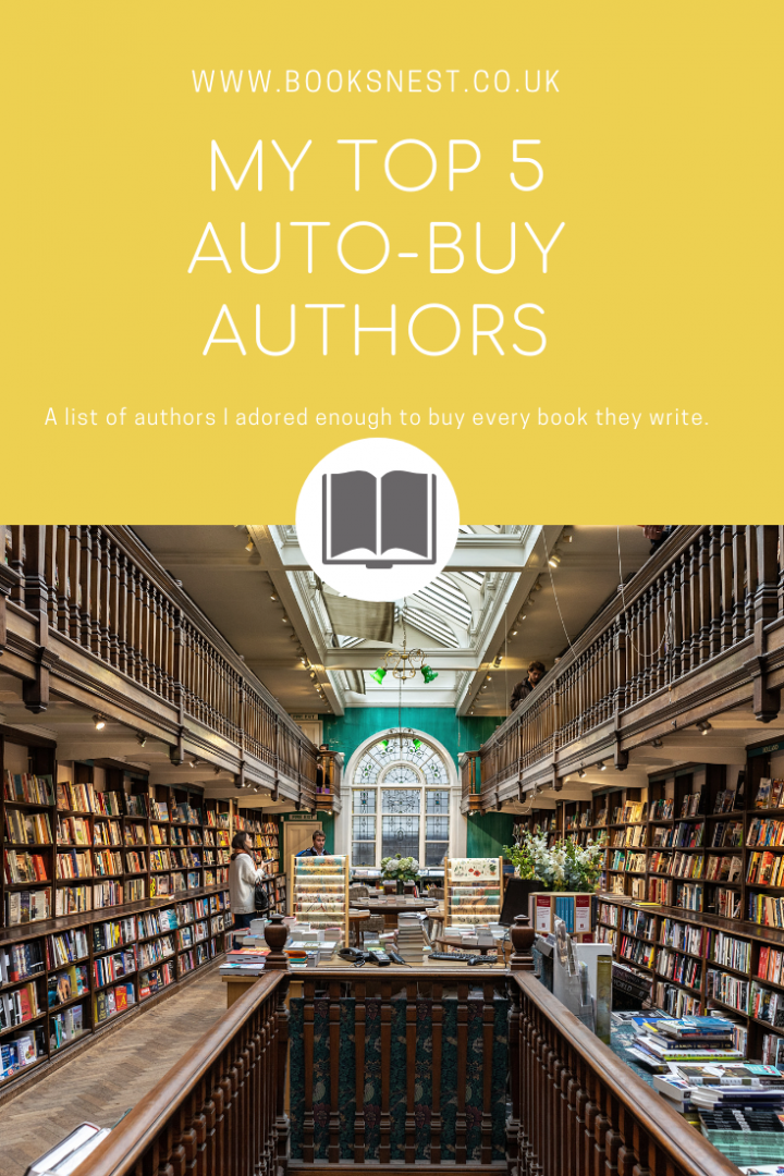 My top auto-buy authors